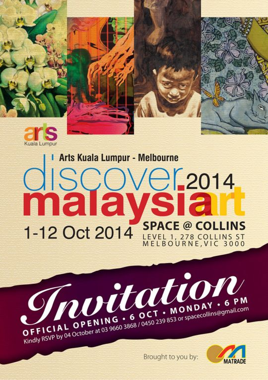 Invitation to Arts KL-Melbourne 2014