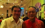 With Datuk Steven Sim